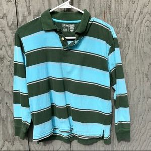Old Navy Large polo boys striped